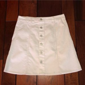 White Mossimo Supply Co Skirt